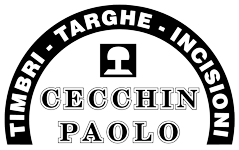 Torino Targhe Timbri Cecchin Paolo